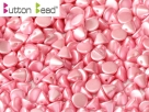 #21.08 50 Stck. Button Beads 4mm Pastel Pink