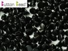 #46.00 50 Stck. Button Beads 4mm Jet