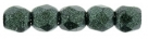 #27 50 Stück - 2,0 mm Glasschliffperlen - Metallic Suede - Dk. F