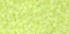 10 g TOHO Seed Beads 11/0 TR-11-0833 - Ceylon Neon Yellow
