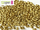 #03 5g Super8-Beads Metallic Olivine