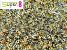 #08 5g Super8-Beads Crystal Full Marea