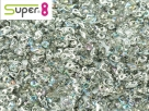 #10 5g Super8-Beads Crystal Silver Rainbow