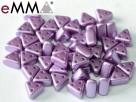 #10 50 Stück eMMA Bead  3x6x6 mm - Pastel Lila
