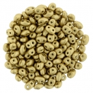#08.00 - 10g MiniDuo-Beads  Matte Metallic Flax