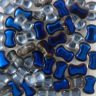 #03.00 25 Stck. 6x8 mm CoCo Bead vertical - Crystal Azuro