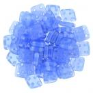 #10 10g QuadraTile-Beads 6mm - Opal Sapphire