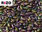 #23 10g Rizo-Beads Jet Purple Iris