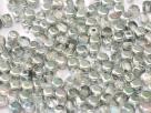 #01.04 50 Stck. Würfel Ø 4mm -  crystal silver rainbow