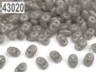 #005c 10g SuperDuo-Beads opak grau