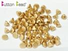 #00.01 50 Stck. Button Beads 4mm Aztec Gold