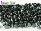 #46.01 50 Stck. Button Beads 4mm Jet Hematite
