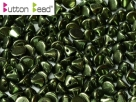 #46.03 50 Stck. Button Beads 4mm Jet Red Luster