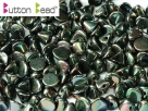 #46.05 50 Stck. Button Beads 4mm Jet Full Apricot Med
