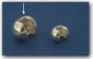 1 Stück Klappkugel ø 5 mm - 925 Silber