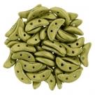 #30.45 5g Crescent-Beads 10x3 mm - Saturated Metallic - Yellow