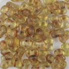#03.01 25 Stck. 6x8 mm CoCo Bead vertical - Crystal Picasso