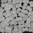 #30.00 25 Stck. 8x6 mm CoCo Bead horizontal - alabaster