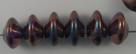 #01.03 - 25 Stück Ufo Beads 7x11mm - crystal iris
