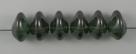 #01.04 - 25 Stück Ufo Beads 7x11mm - crystal lazure blue luster