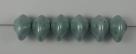 #02.01 - 25 Stück Ufo Beads 7x11mm - alabaster seefoam luster