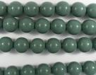 #24.0 1 Strang - 8,0 mm Glasperlen - hartford green/paint coatin