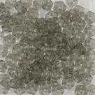 #01.07 50 Stück Blüten 5 mm - crystal black diamond coating