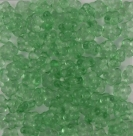 #01.09 50 Stück Blüten 5 mm - crystal peridot coating