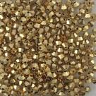 #35.0 25 Stück - 3,0 mm Crystal Bicone gold