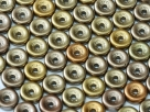 #08 50 Stck. Wheel Beads Ø 6mm - metallic mix
