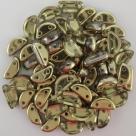 #01.04 - 25 Stück Halfmoon 8*4 mm - Crystal Half Amber