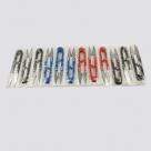 1 Ganzmetall-Klappschere farbig - 106x22x10mm