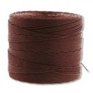 1 Rolle S-Lon Bead Cord TEX135 Brown
