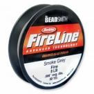 Fireline von Berkley - 0,17 mm (8 LB)  - smoke - ca. 45,5 m