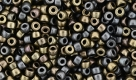 #3 - 10g MATUBO Seed Beads 8/o Matte Met. Leather
