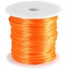 1 m geflochtene Schnur - Ø 2,0 mm - neon orange