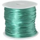 1 m geflochtene Schnur - Ø 1,0 mm - turquoise green