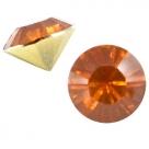 #05 - 2 Stück Chaton 8 mm (SS39) - dk topaz opal