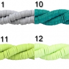50 Stck. Katsuki Beads Ø 4 mm in verschiedenen Farben