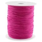 0,5 m Gummiband Stärke 1 mm - ruby purple
