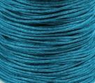 1 Meter Wachskordel Ø 0,8 mm - azurro blau