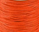 1 Meter Wachskordel Ø 0,8 mm - orange