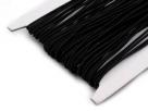 0,5 m Gummiband Stärke 1 mm - black