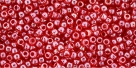 10 g TOHO Seed Beads 11/0 TR-11-0109 - Tr.-Lustered Tropical Sunset Lined
