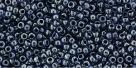 10 g TOHO Seed Beads 11/0 TR-11-0362 - Inside-Color Luster Transparent/Navy Blue (E)