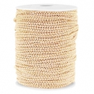 0,5 m Fashion Wire flach 5mm Nude beige-gold