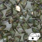 #05.01 - 25 Stück Diamonduo 5x8 mm - crystal lazure blue