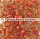 #01.02 - 25 Stück Roller Beads 6x4 mm - topaz/hyacinth lined
