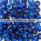 #05.01 - 25 Stück Roller Beads 6x4 mm - cobalt azuro