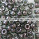 #04.03 - 25 St�ck Roller Beads 6x4 mm - sapphire lazure blue